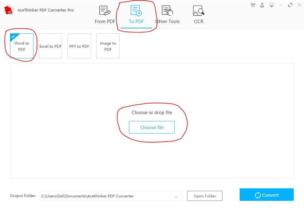 1 Cara Convert format lain ke pdf
