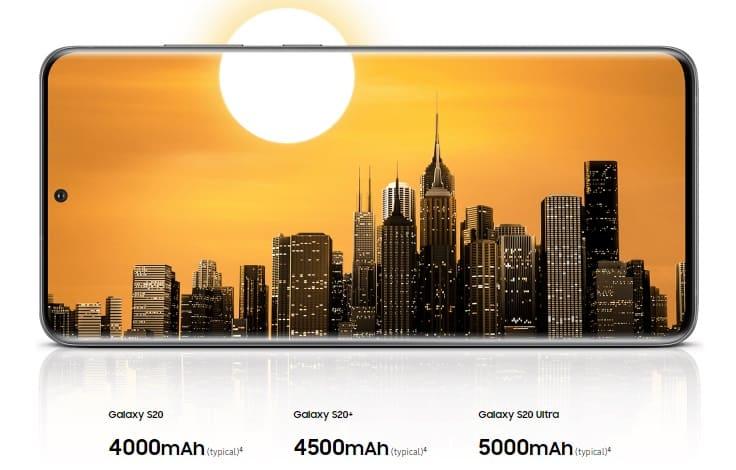 Baterai Galaxy S20