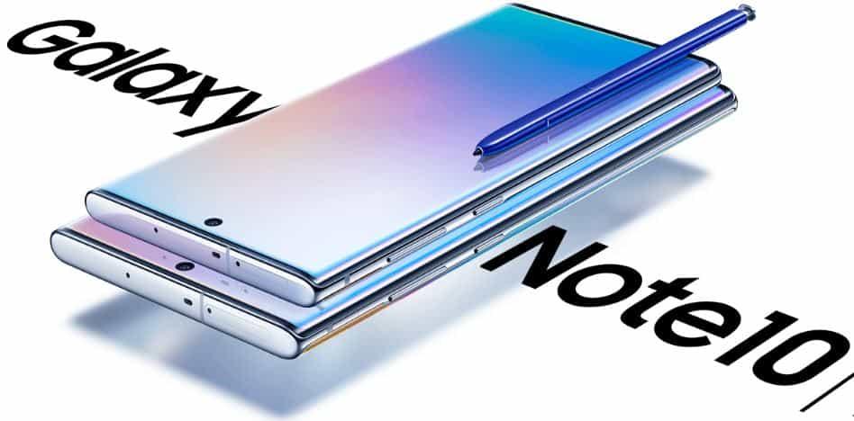 Galaxy Note 10 Desain