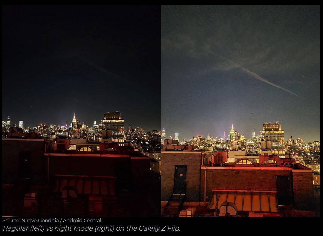 hasil tangkapan kamera samsung galaxy z flip