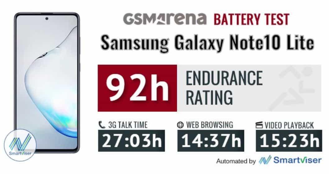 daya tahan baterai samsung galaxy note 10 lite