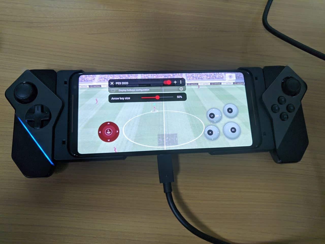 ROG Kunai Gamepad keymapping