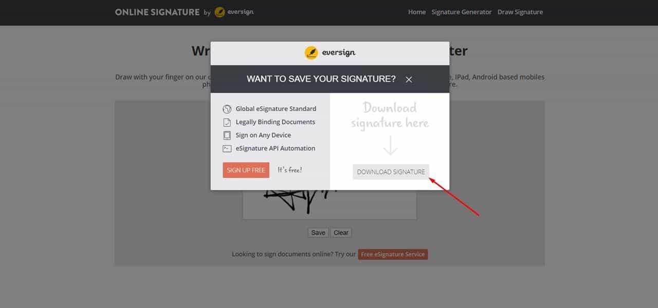download-signature