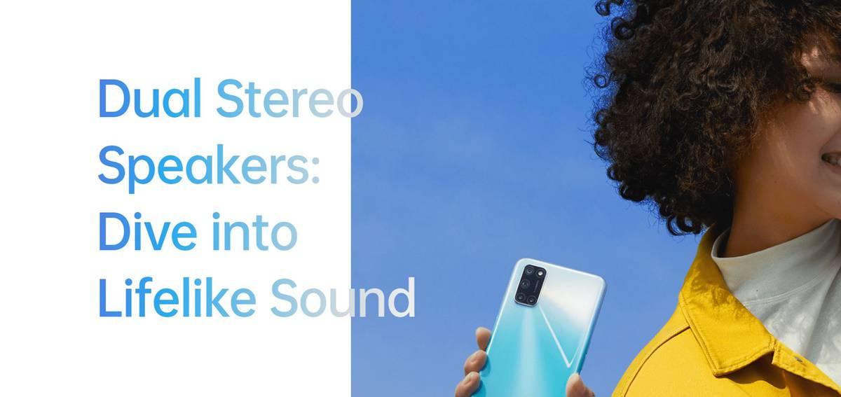 oppo a92 dual stereo speaker