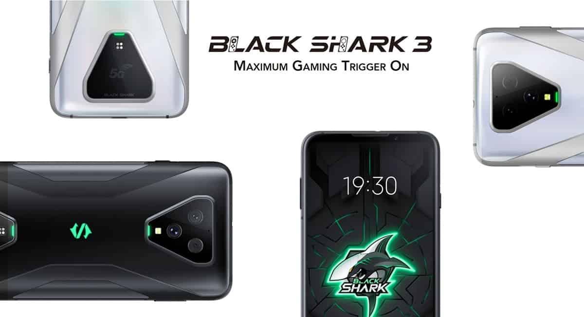 black shark 3 tanpa microsd