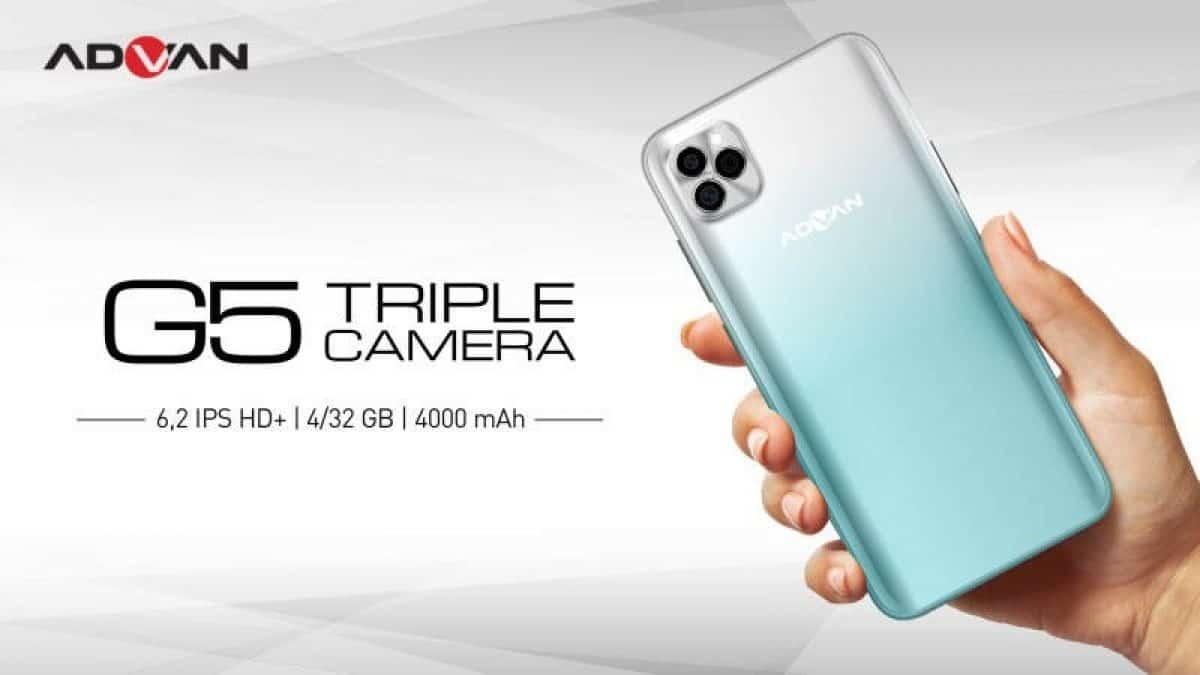 advan g5 triple camera