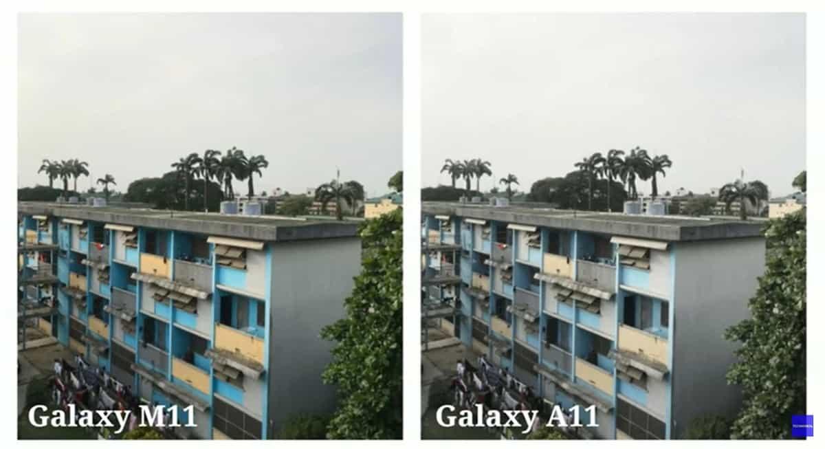 samsung galaxy a11 perbandingan kamera