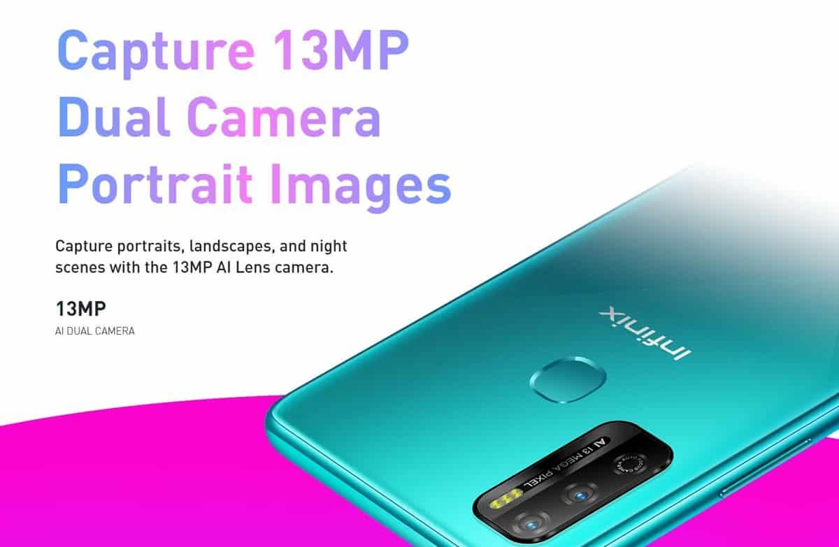 infinix hot 9 play dual camera