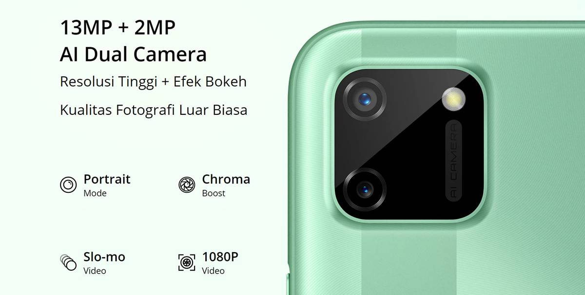 dual camera realme c11