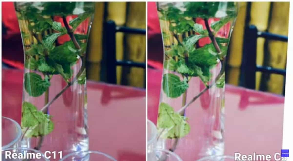 realme c11 c3 photo comparison