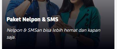 Paket Nelpon & SMS