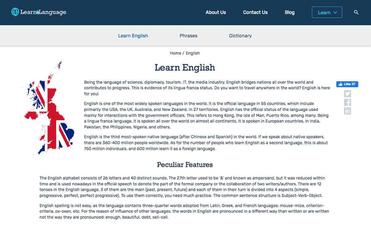 LearnaLanguage