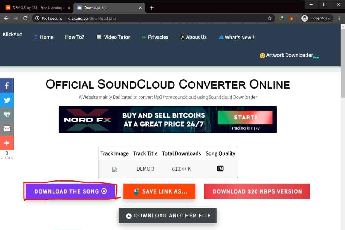 Download Lewat klickaud.co