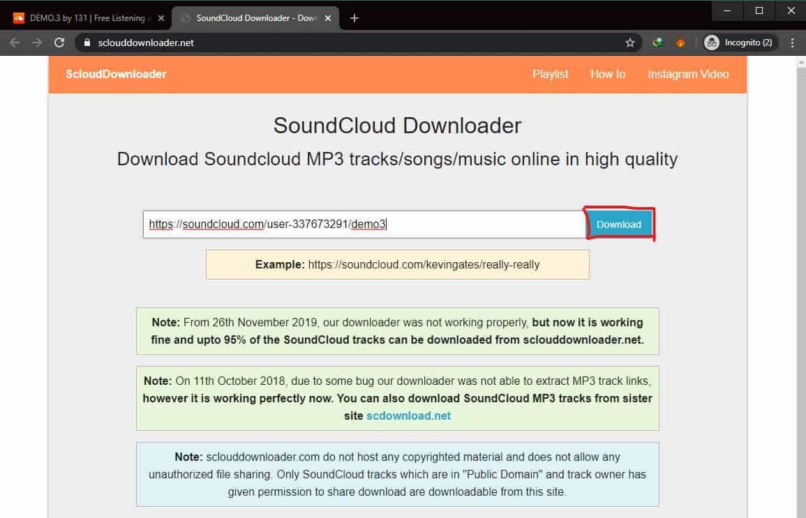 Download Lewat sclouddownloader.net