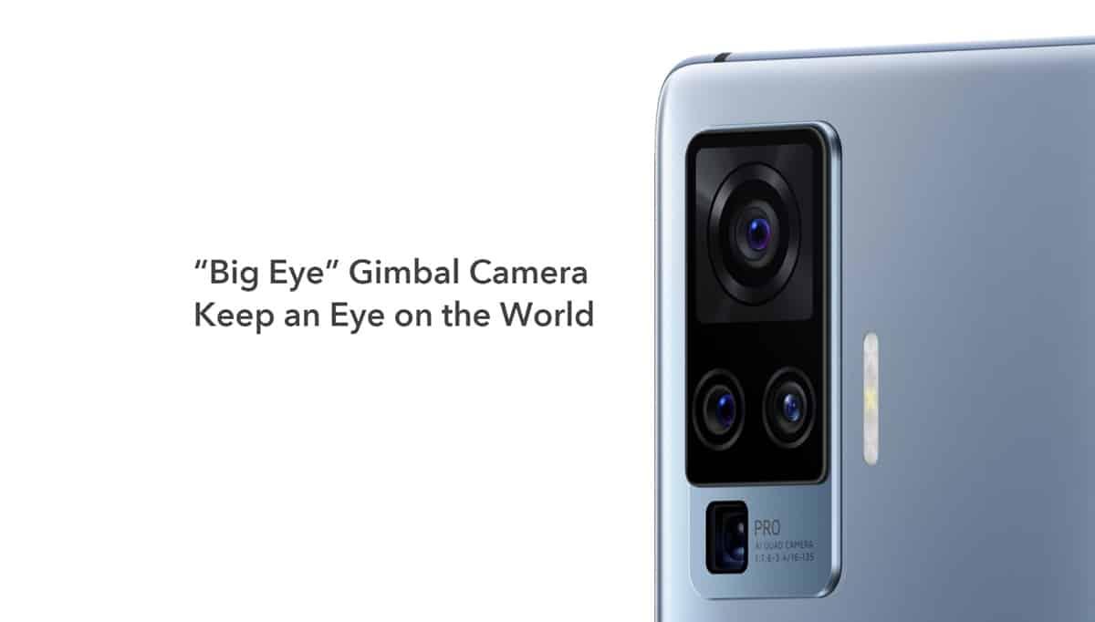 vivo x50 pro gimbal big eye