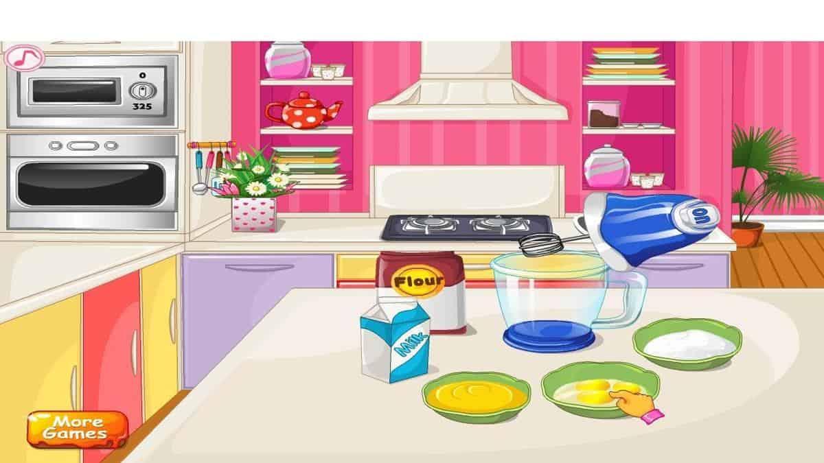 Make A Cake - Cooking Games