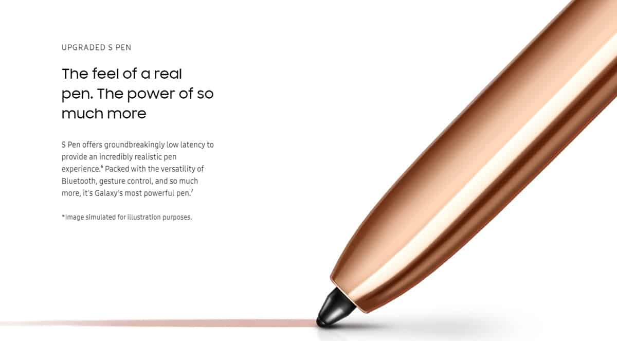 s pen galaxy note20