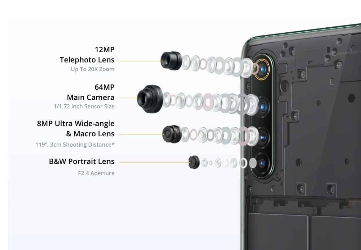 kamera realme x50 pro