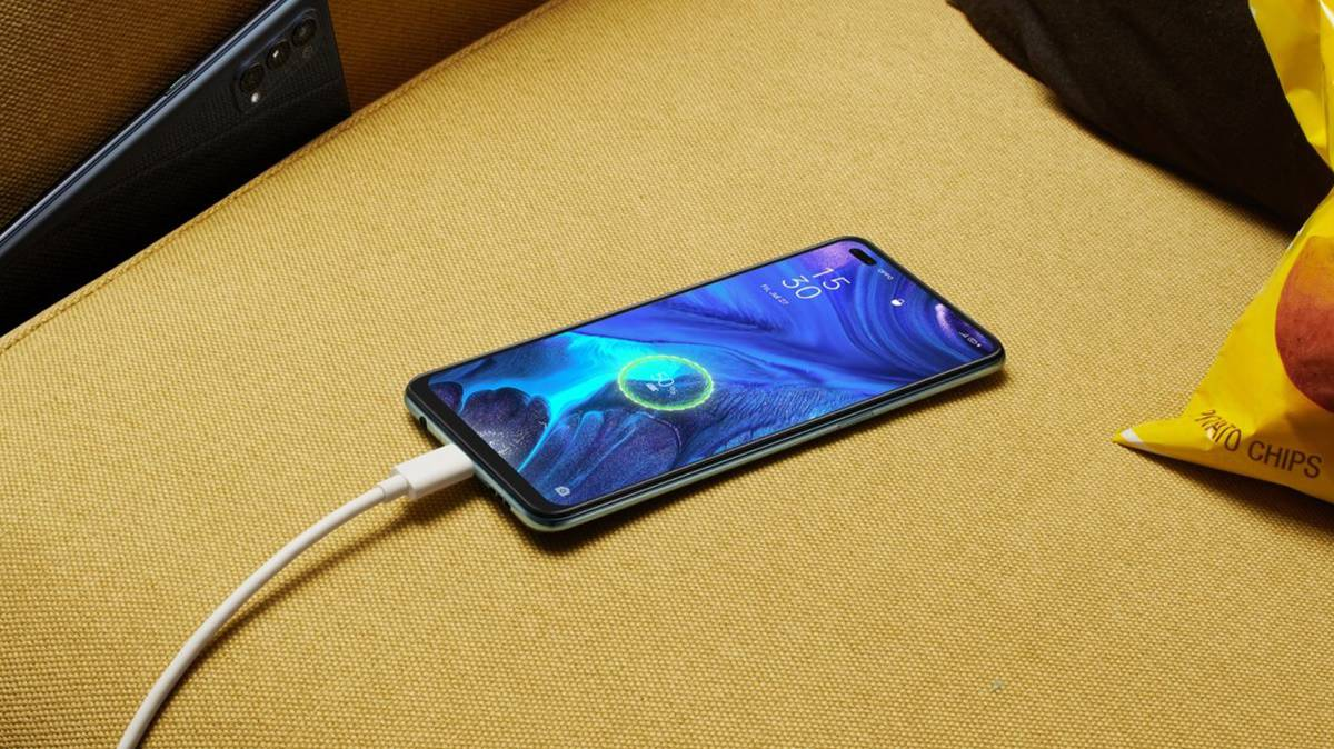 fast charging oppo reno4