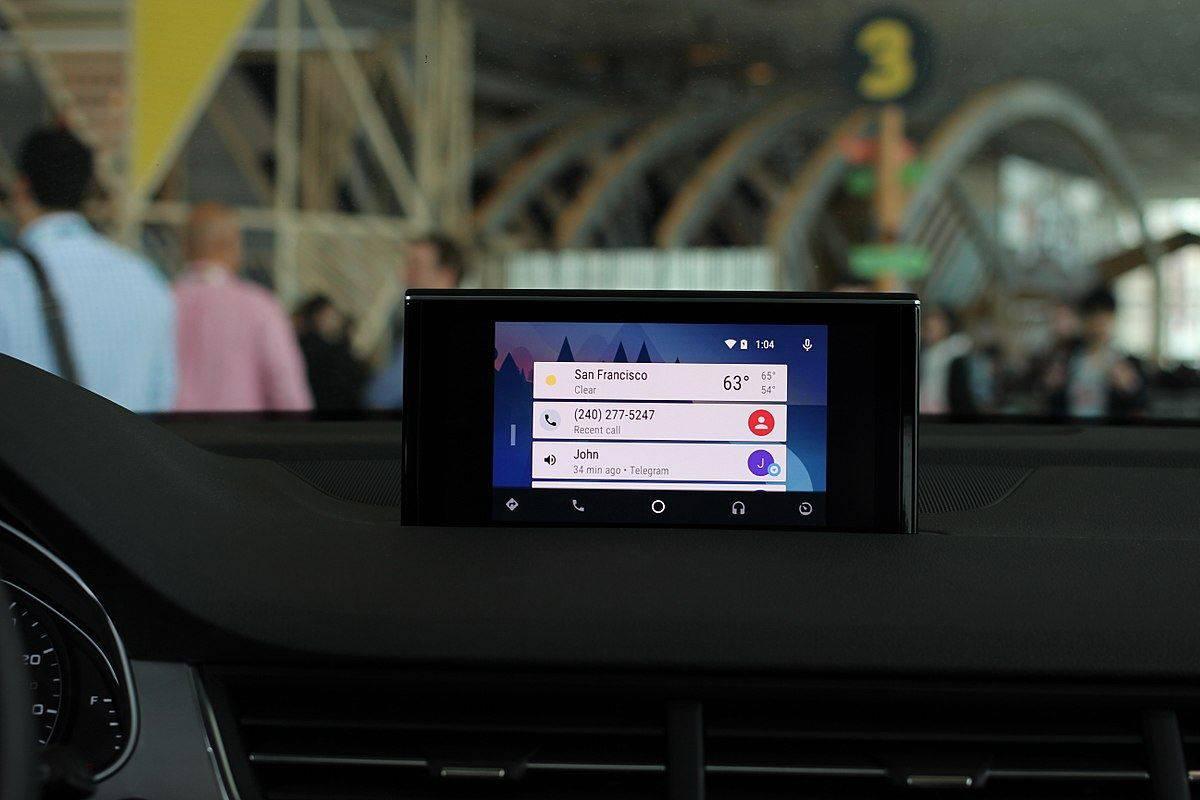 head unit android auto