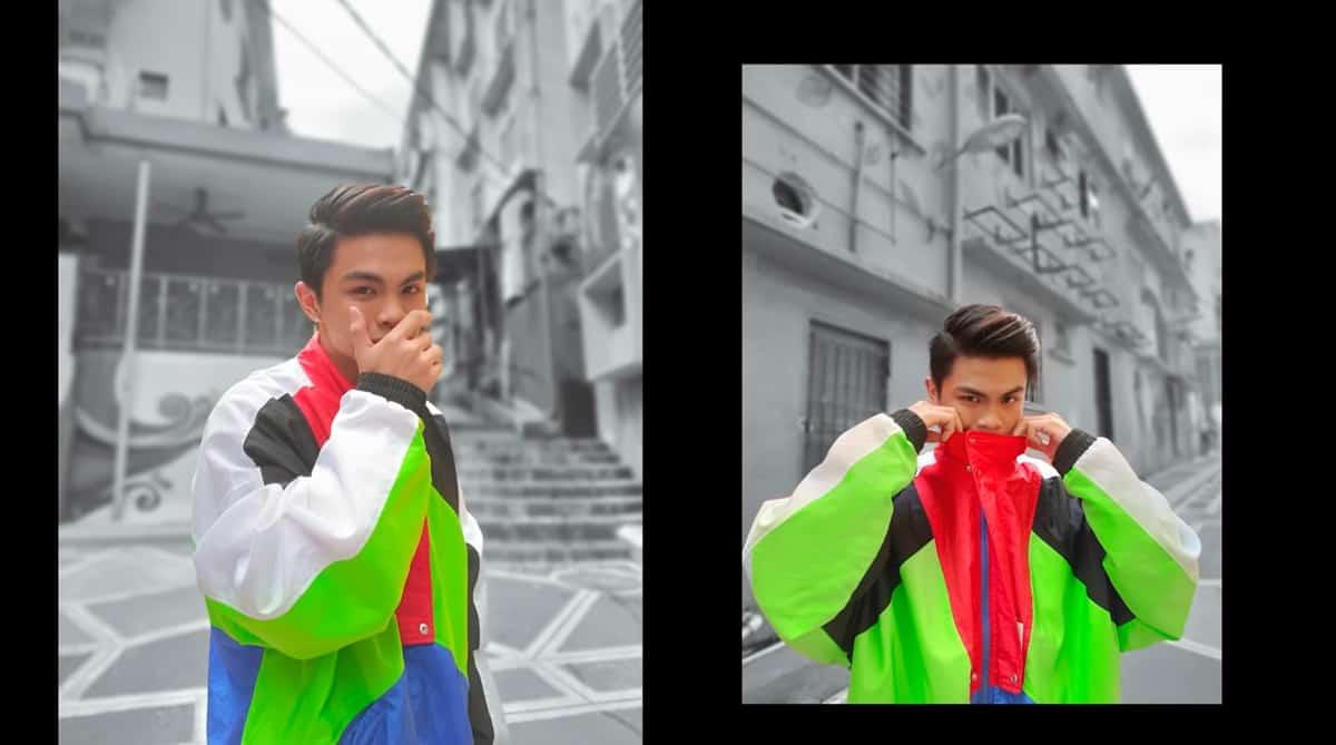 oppo reno4 pro ai color portrait