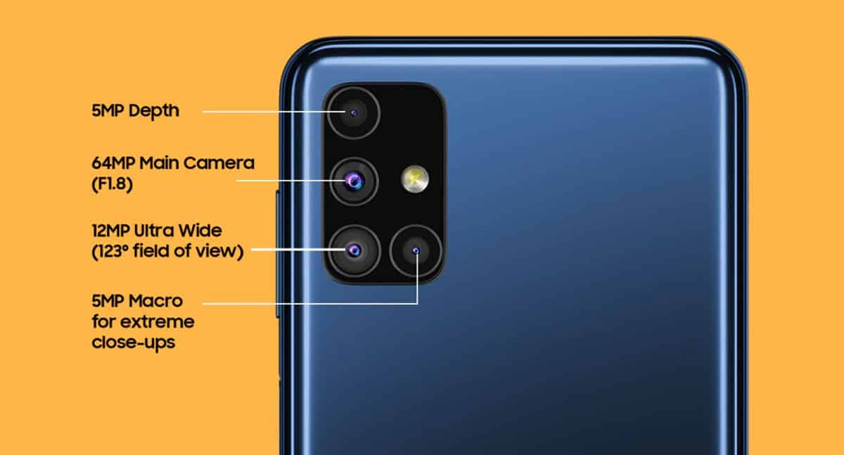 samsung galaxy m51 kamera