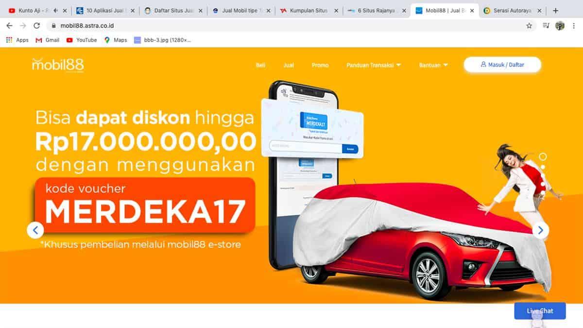 10 Situs Jual Beli Mobil Online Terbaik di Indonesia - INDOMPS