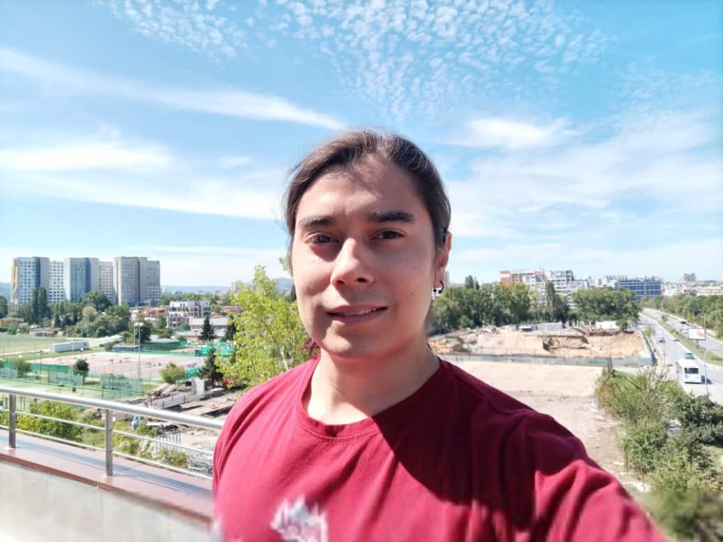 infinix zero 8 camera selfie