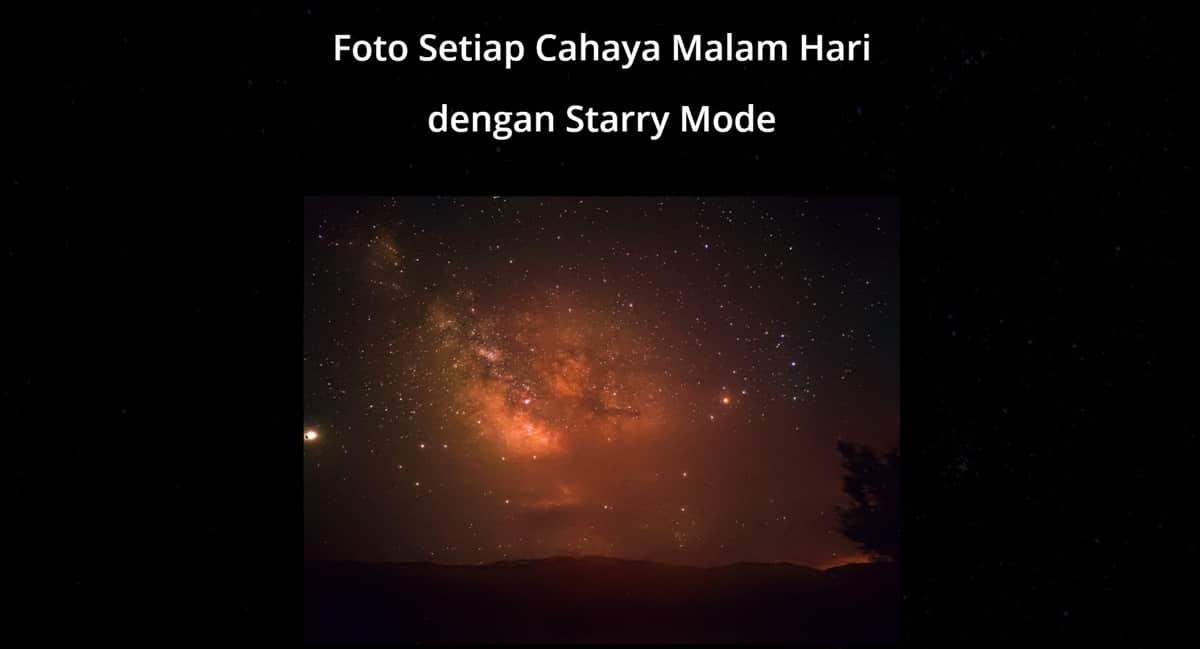 starry mode realme 7
