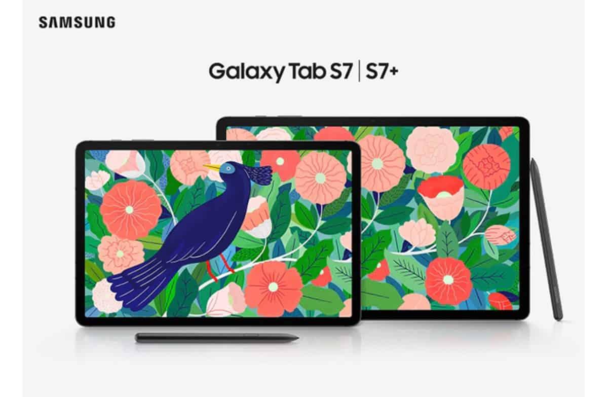 samsung galaxy tab s7 layar