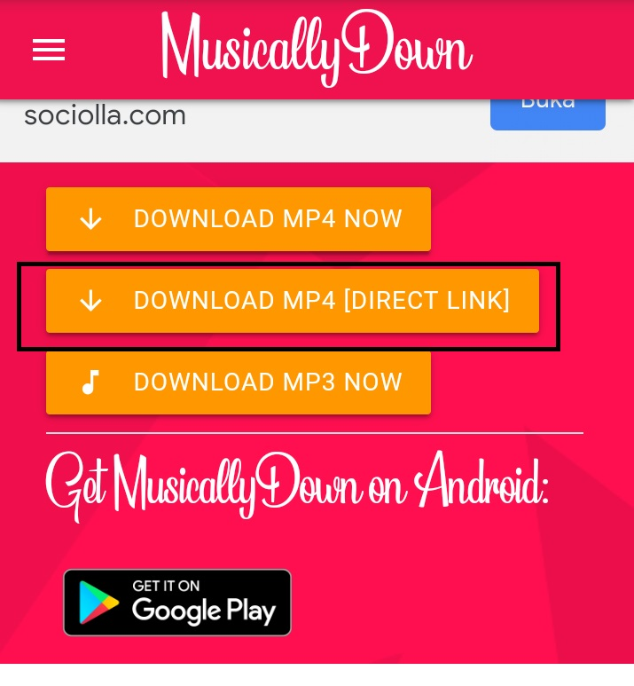 Download Mp4 Direct Link