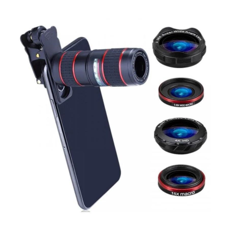 Bluefinger HX-S1248L Telephoto 5-in-1 Lens Kit